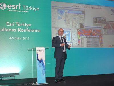 Esri Türkiye Kullanıcı Konferansı Sunumlarımız