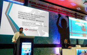 Ar-Ge Ekibimiz Adana TMMOB Uluslararası CBS Kongresinde
