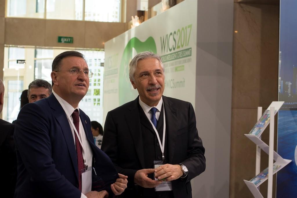 Hatay Büyükşehir Belediye Başkanı Sn. Lütfü SAVAŞ ve Universal Genel Müdürü Sn. Mehmet ÖZYİRMİDOKUZ
