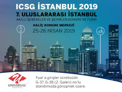 25-26 Nisan'da ICSG 2019 Fuarı'ndayız