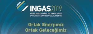 INGAS 2019 Fuarı'ndayız